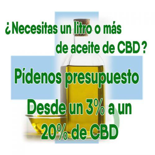 Aceite de CBD por litros